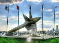 Propeller and Flags 2