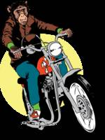 redbubble-biker-chimp