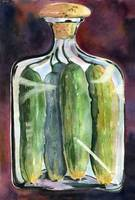 Pickle Jar Art