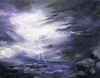 God Strikes the Earth with Power by KIM KLOECKER