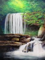 His Waterfall by KIM KLOECKER