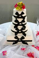 Bow tie Wedding Cake
