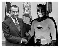 Nixon Meets Batman