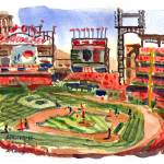 Busch Stadium, April 13, 2013 by Michael Anderson