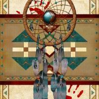 """Catching Spirits Native American"" by ReneeLozenGraphics"