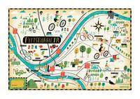 Pittsburgh Bike Map by Bicycle Times
