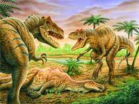 Allosaurus Face-off