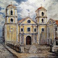 San Agustin Church, 1800s