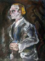 The student (homage Kokoschka)