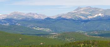 Colorado Continental Divide Panorama 3