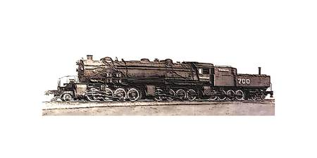 28884 Steam Locomotive CC 95 34 lg border