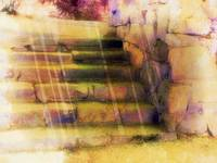 stone steps soft color artistic