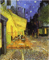 Vincent Van Gogh Cafe Terrace At Night Vintage Art