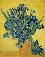 Vincent Van Gogh Vase With Irises Postimpressionis