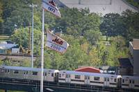 The 7 train / Mets banners