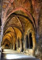 Gothic cloister of Lisbon cathedral