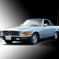 """""""1981 Mercedes 380SL Roadster"""" by FatKatPhotography"""