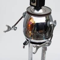 argus the robot Art Prints & Posters by Paul Loughridge