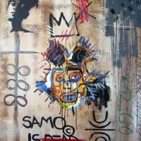 """""""In memory Basquiat"""" by Bela-Manson"""