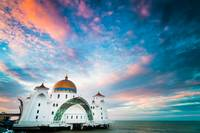 The Straits Mosque at Sunrise