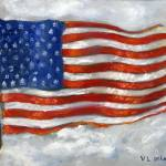 """USA Flag"" by Lenora"
