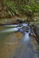 Rapids at Batu Asah Waterfalls