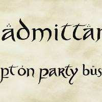 """""""No Admittance Except on Party Business"""" by thegeekarchives"""