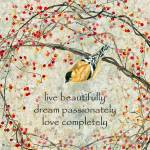 Live Beautifully Prints & Posters