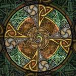 Celtic Aperture Mandala by Kristen Fox