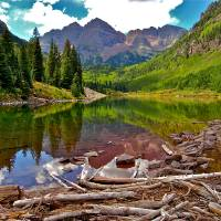 Maroon Bells Art Prints & Posters by Phillip Chamberlin