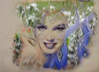 Marilyn Glass Art 2