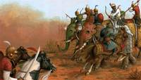 Marwari Horse in Battle