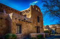 Old Adobe House, Santa Fe, New Mexico