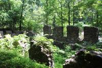 Old Roswell Mill Ruins