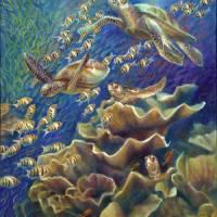 206-FantasticJourney-turtles by Nancy Tilles