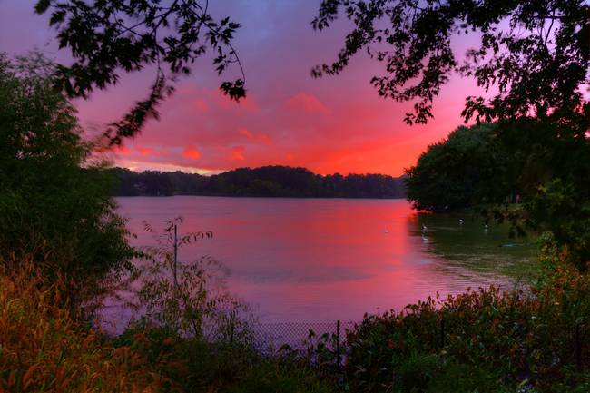 Minnesota Autumn Sunset