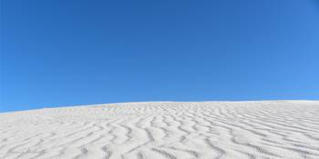 White Sands Blue Sky
