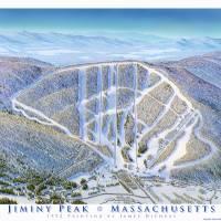 """Jiminy Peak Massachusetts"" by jamesniehuesmaps"