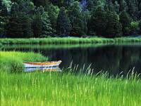 Rowboat on Mill Pond, Orleans, Cape Cod