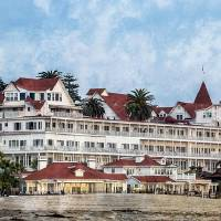 """Coronado Hotel near San Diego"" by lillisphotography"