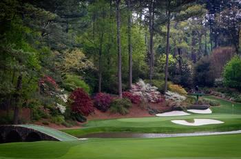Amen Corner Augusta Georgia Golf Golfers By Cris Hayes