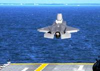 F 35 Take Off Amphibious Assault Carrier Wasp