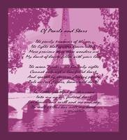 Of Pearls & Stars Muted Pink Eiffel Tower Seine Ri