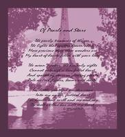Of Pearls & Stars Eiffel Tower Seine River Muted P