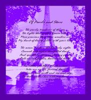 Of Pearls & Stars Eiffel Tower Seine RIver muted v