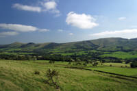 Great Ridge Hills, from the Pennine Way (34337-RDA