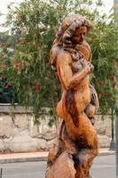 Large Wood Carving