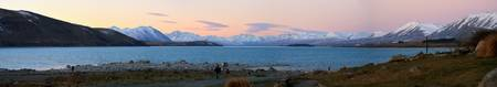 Panorama of Lake Tekapo