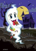 Manga Sweet Ghost at Halloween