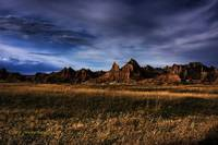 South Dakota Badlands - Spring Landscape